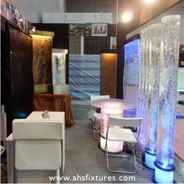 2012 HomeDec@KLCC Wall Fountains & Bubble Water Features