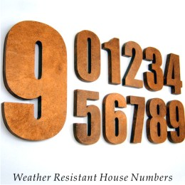 Weather Resistant House Numbers