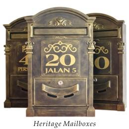 Herritage Mailboxes